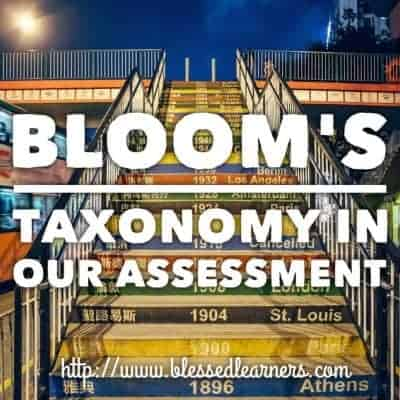 Bloom's Taxonomy in Our Homeschooling