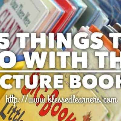 25 Things To Do To Explore The Picture Story Books