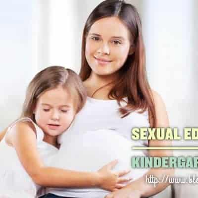 Sexual Education in Kindergarten Levels
