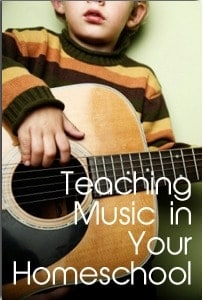 Teaching Music in Your Homeschool