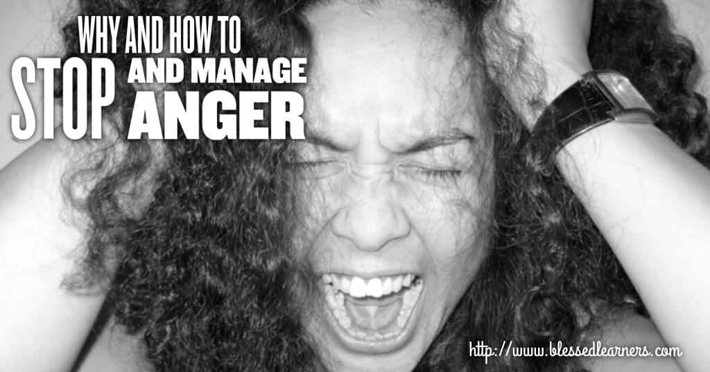 Why and How To Stop and Manage Anger FB