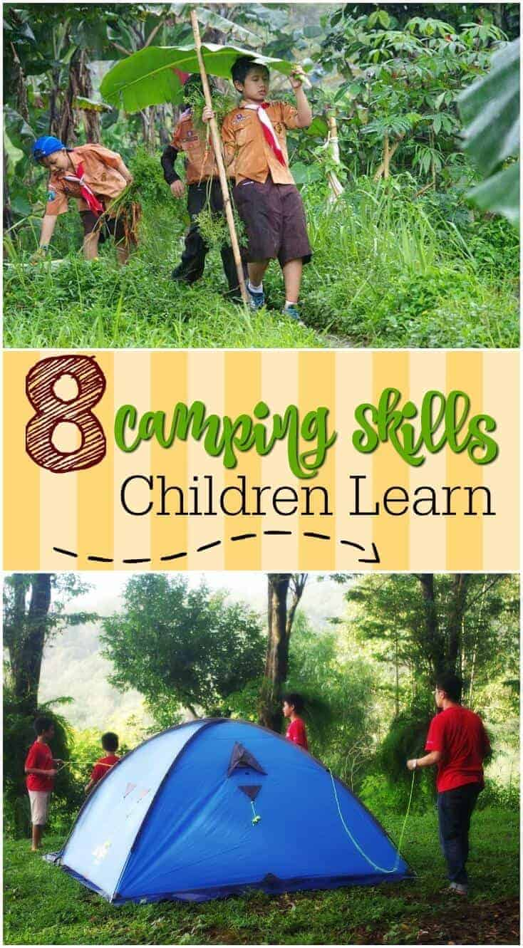 8 Camping Skills Children Learn