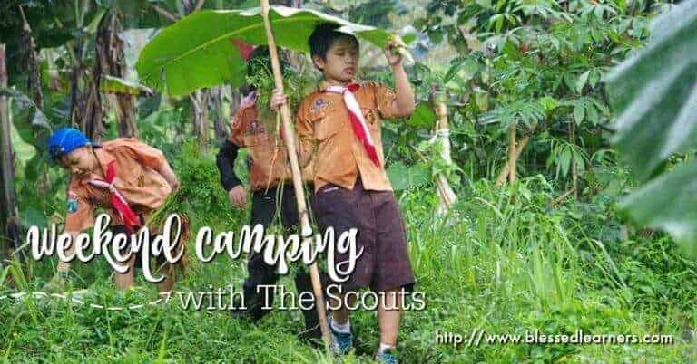 Weekend Camping with The Scouts
