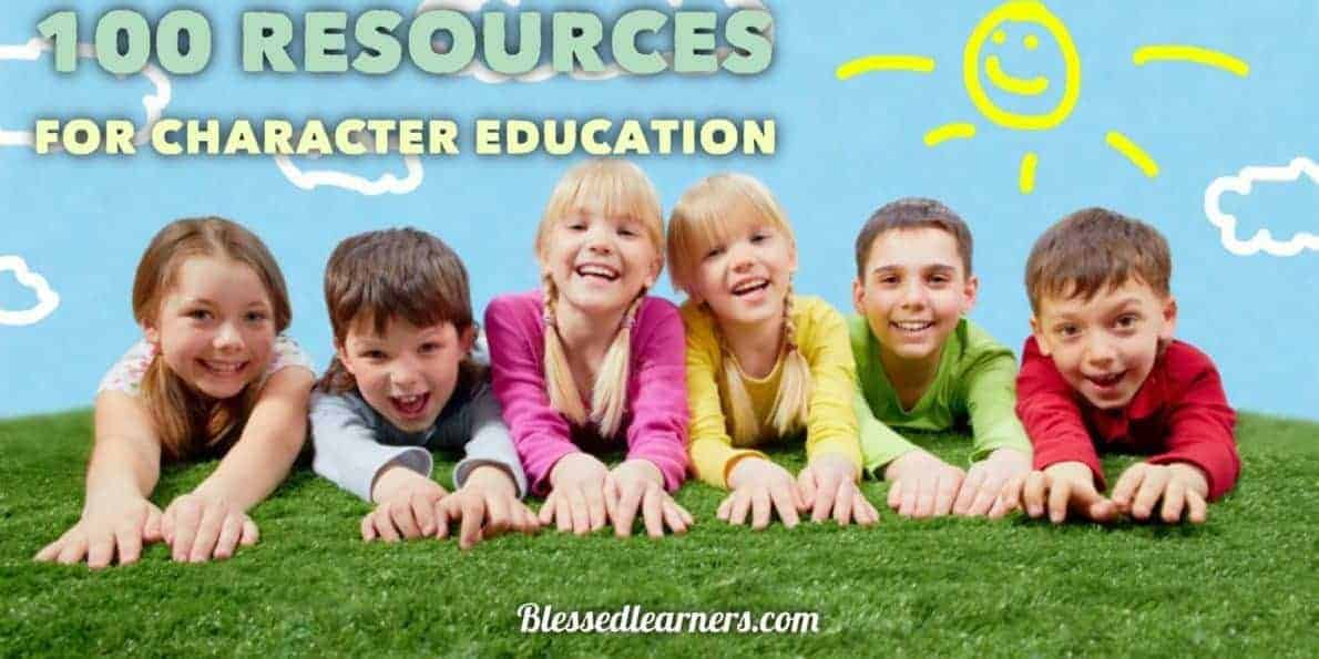 Here are some resources for character education to inspire homeschooling parents achieving their goals to have balance education for children