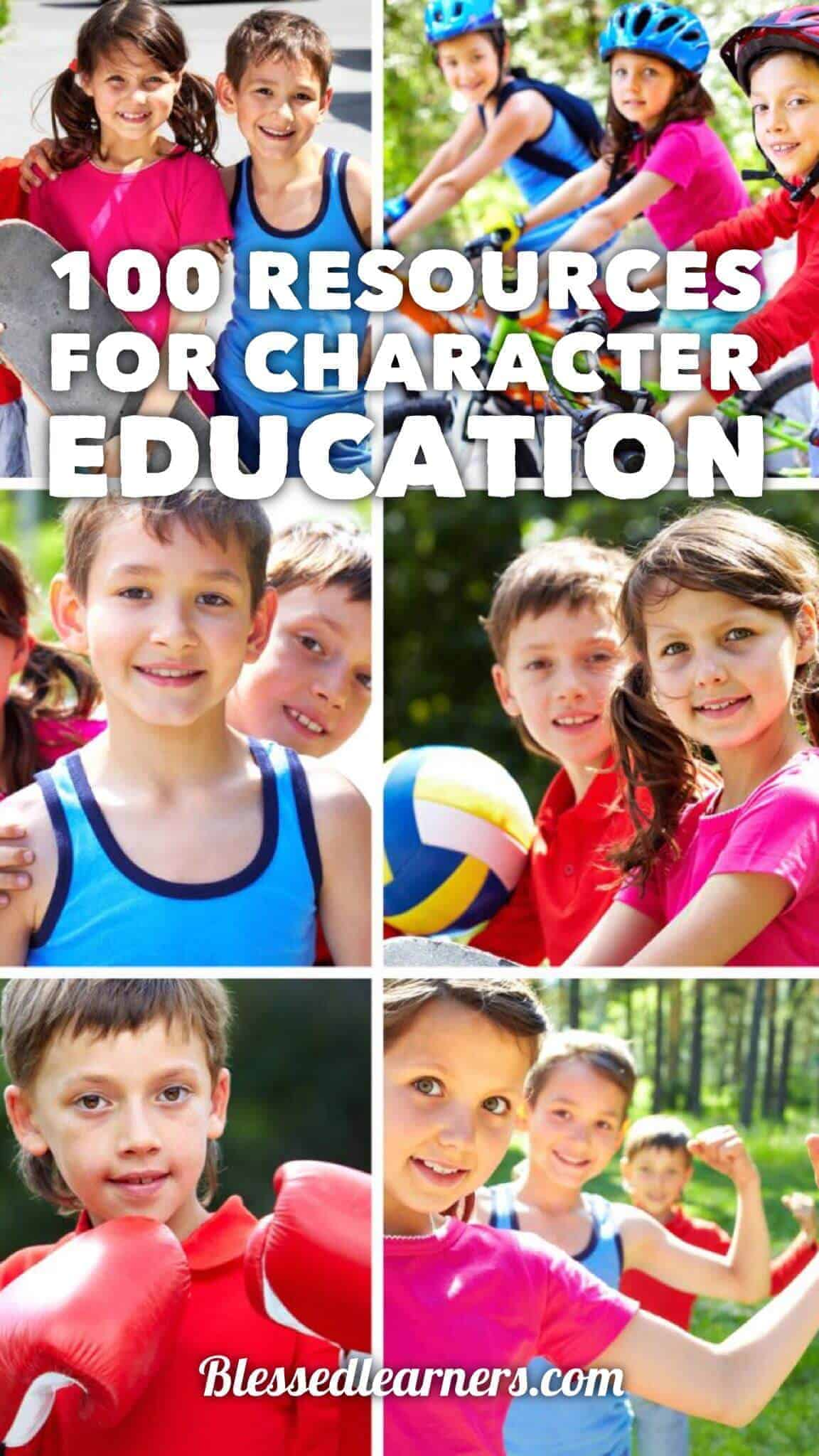 100 Resources for Character Education