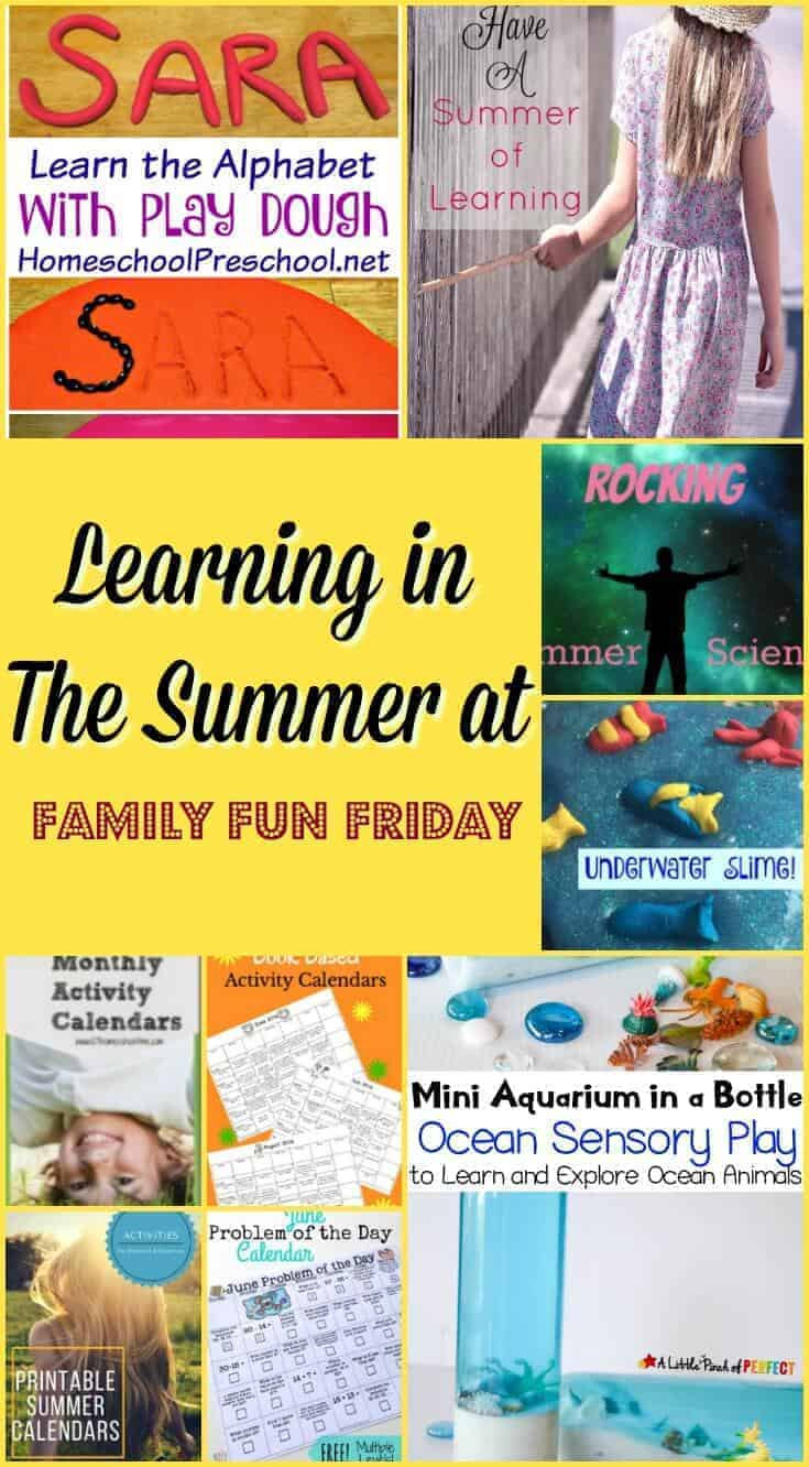 Learning in The Summer at Family Fun Friday