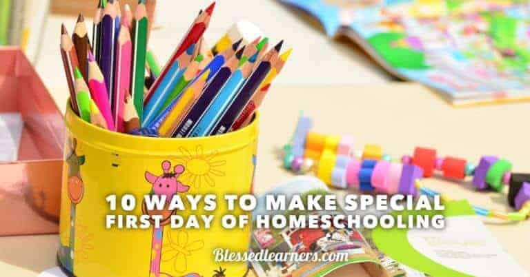 10 Tips to get out of the summer holiday mood to get ready for the first day of homeschooling or schooling.