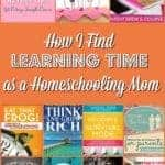 There is not much time in a day left out for a homeschooling mom to find learning time. A little time to upgrade and update ability to be more productive. Here is How I Find Learning Time as a Homeschooling Mom #Motherhood #Homeschool #Bloggingtools