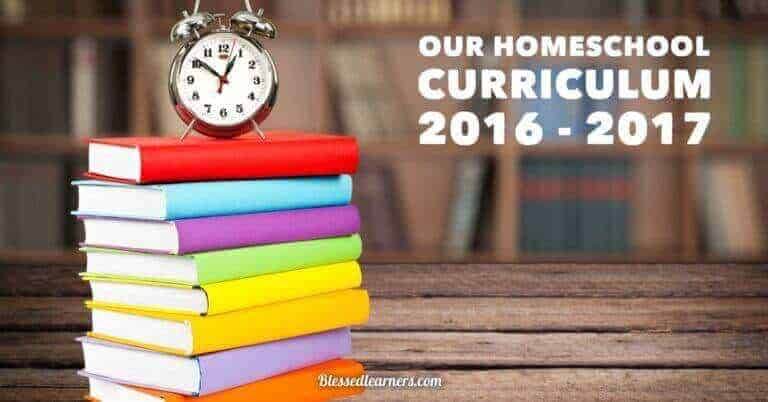 This year we have a 9th grader, an 8th grader, and a 4th grader. Here is our homeschooling curriculum 2016 - 2017.
