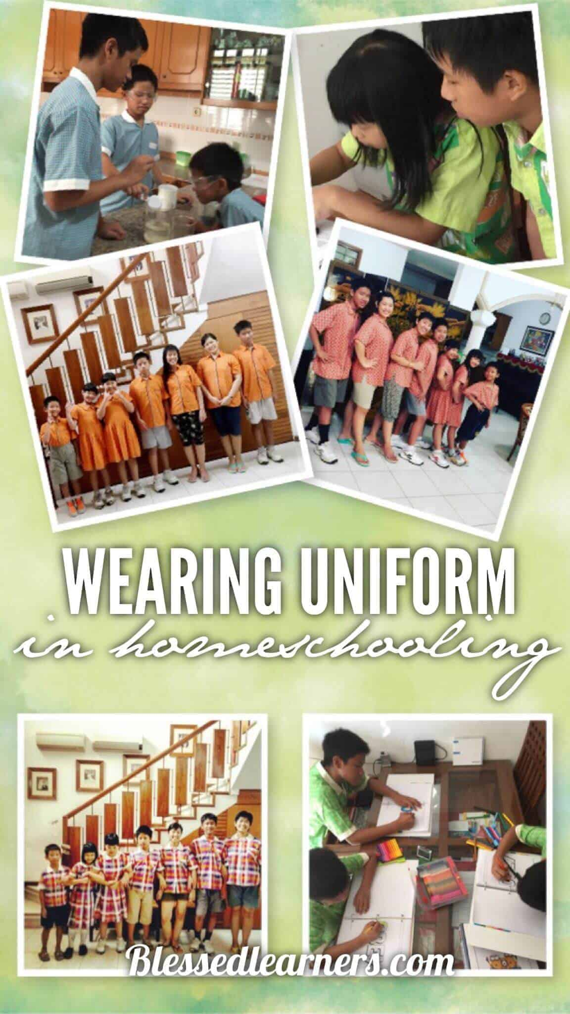 Wearing Uniforms