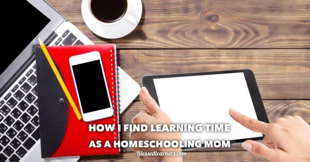 There is not much time in a day left out for a homeschooling mom to find learning time. A little time to upgrade and update ability to be more productive.