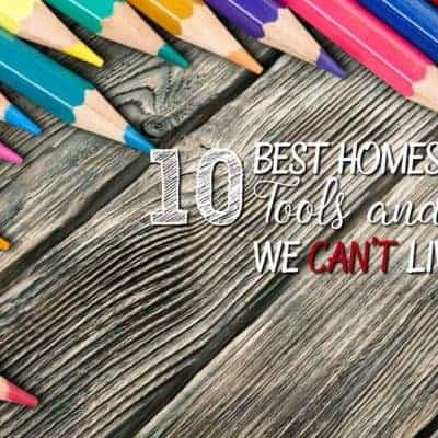 10 Best Homeschooling Tools and Storage We Can't Live without