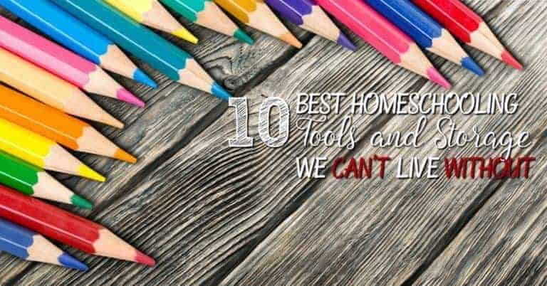 10 Best Homeschooling Tools and Storage We Can't Live with