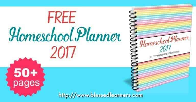 I would like to give away our Free Homeschooling Planner 2017. Visit these posts to read how to use the homeschooling planner.