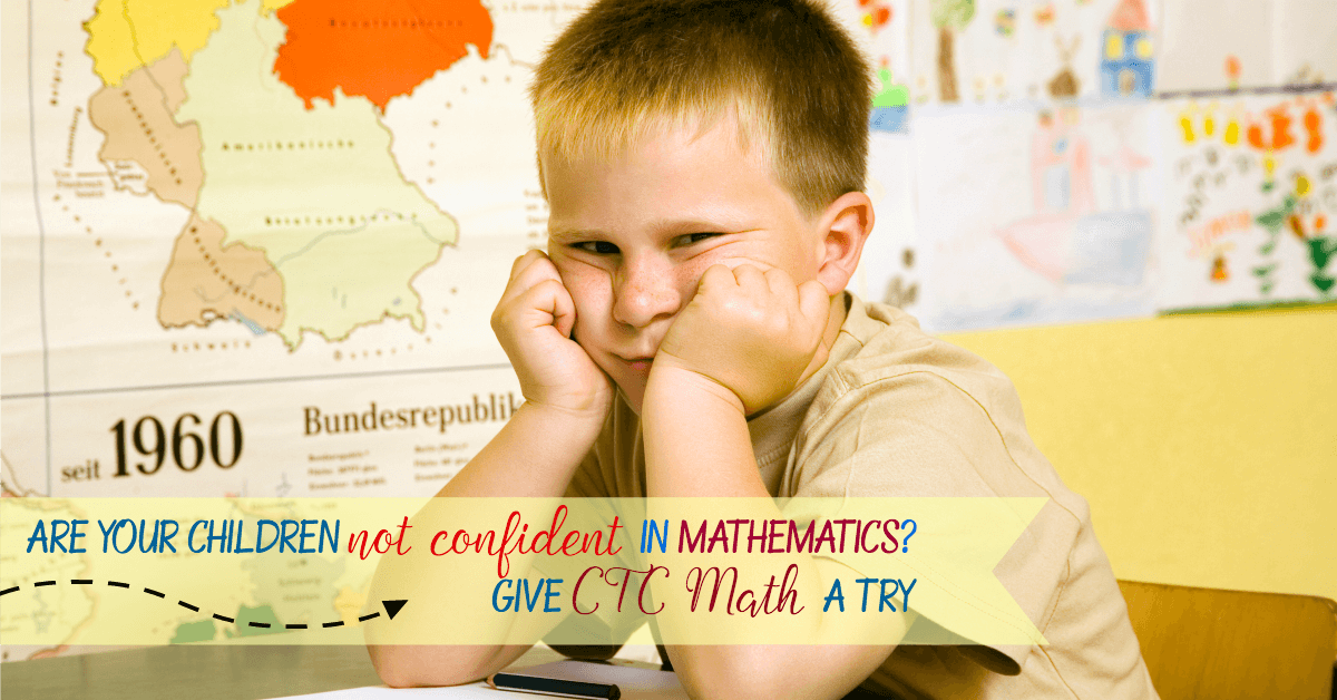 CTC math helps my math hater son to be more confident in learning mathematics. He can do more independent mathematics with ctc math.