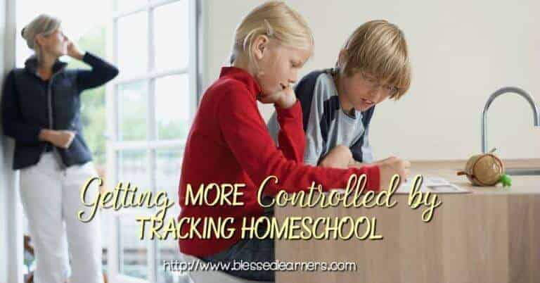 Getting More Controlled by Tracking Homeschool