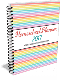 Homeschool Planner 2017