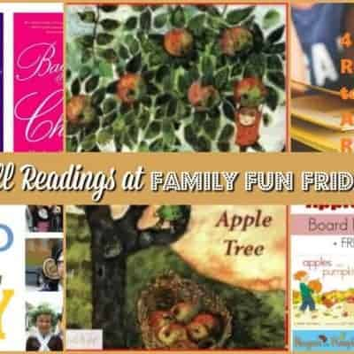 Fall Readings at Family Fun Friday