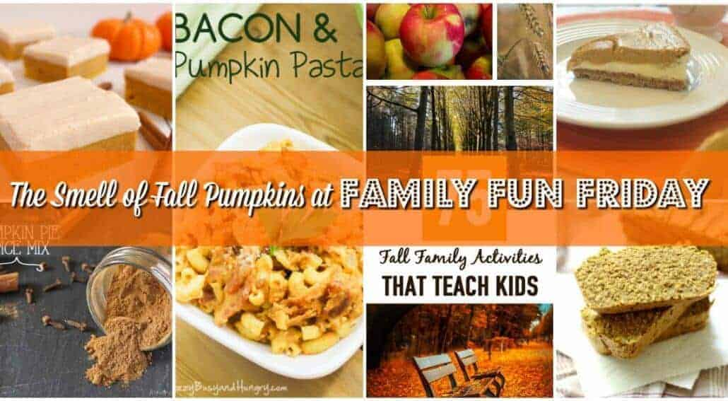 Decorated Fall pumpkins look gorgeous, but the food and activities with pumpkins are not less fun. Get some ideas at Family Fun Friday.