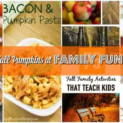 The Smell of Fall Pumpkins at Family Fun Friday