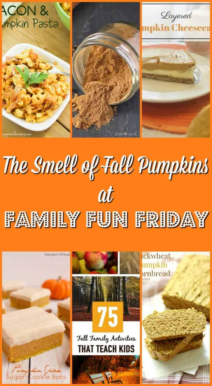 The Smell of Fall Pumpkins