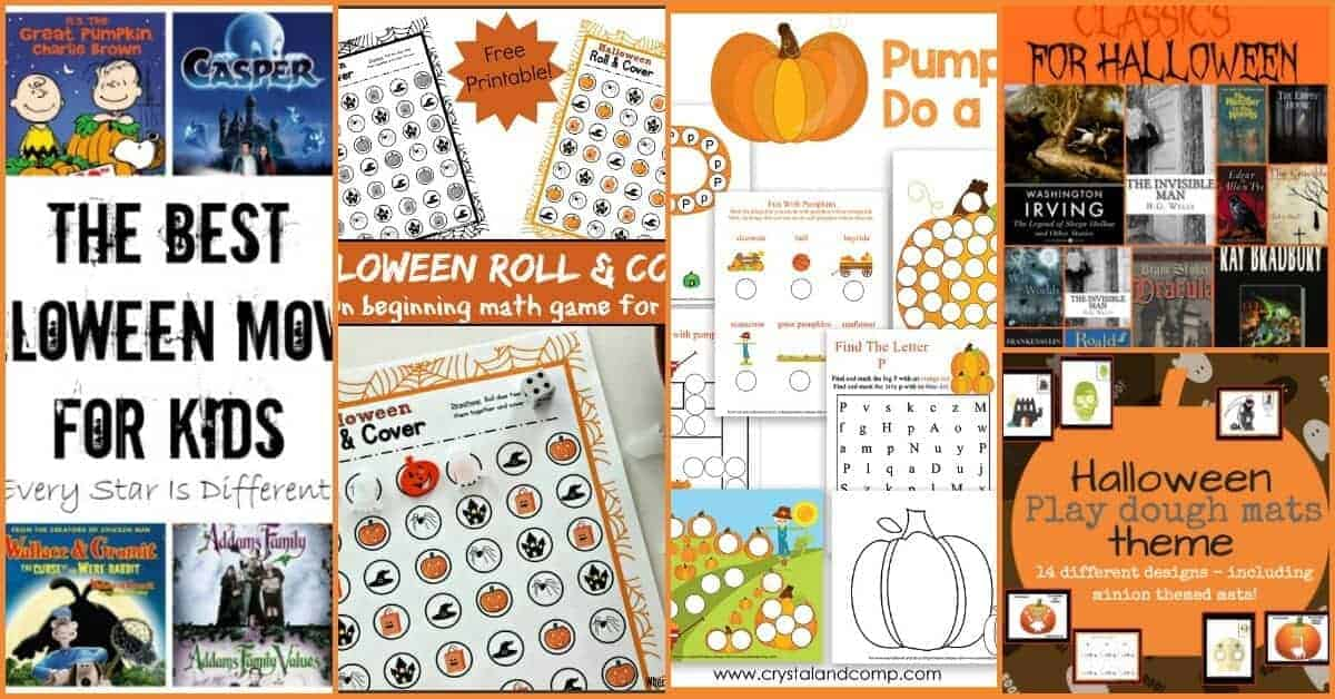 Do you celebrate Halloween? Do you permit kids to celebrate it? Here are some Halloween resources for kids. Get more ideas on Halloween at Family Fun Friday