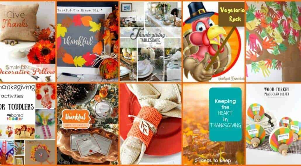 Thanksgiving day is coming soon How do you prepare it? Get more Thanksgiving ideas at Family Fun Friday