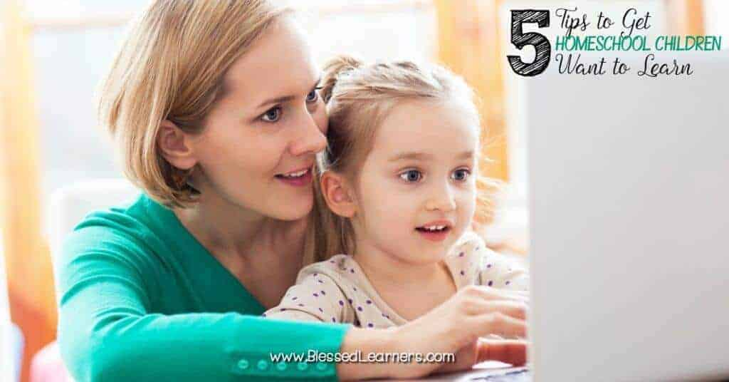 It is not always easy to have homeschool children want to learn. When will children learn independently? How do parents help when they don't want to learn?