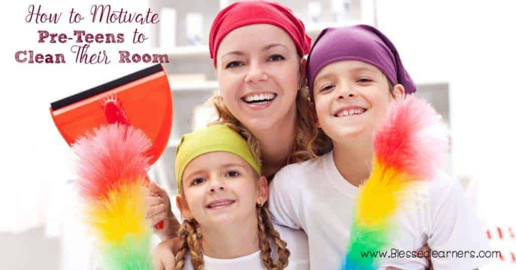 Many parents struggle to motivate pre-teen to clean their room. Do you have any rules to help pre-teen maintain clean room?