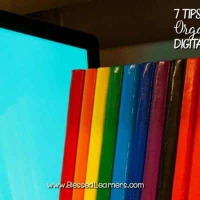 7 Tips on Organizing The Digital Resources