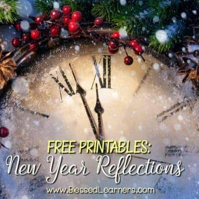 Free Printables: New Year Reflection