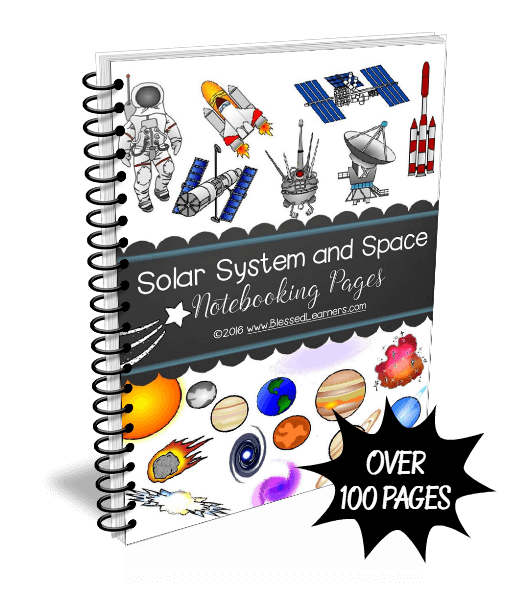 Solar SYstem Notebooking Pages