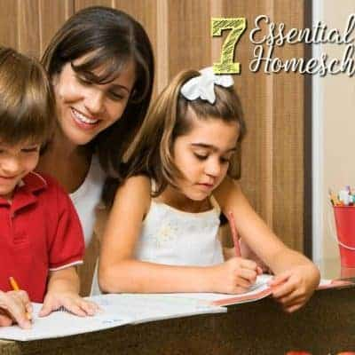 7 Essential Things for A Homeschooling Mom