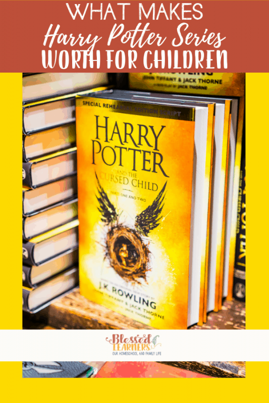 Whether you are looking to sit down to read the Harry Potter series with your kids or watch the movies, here are some pros and cons of Harry Potter Series for kids to help you make your decision wisely. #Homeschool #HarryPotter #Literature #Reading