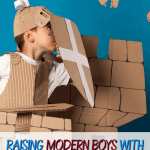 Raising Modern Boys with the Old Knight Chivalry Codes