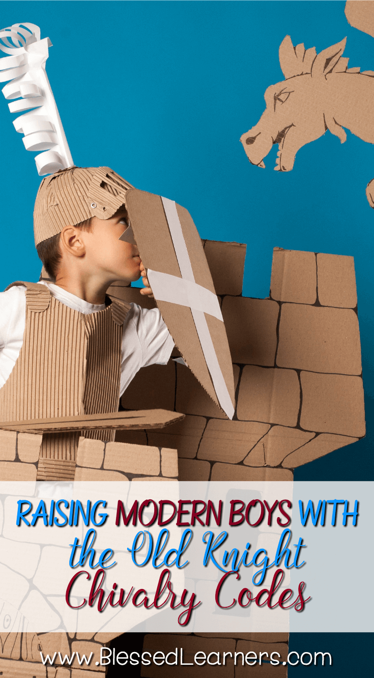It is very contrasted to implementing the old knight chivalry codes to raise modern boys who cannot leave the sophisticated technology in their daily life. #parenting #Knight #Parentingboys #bookreview | motherhood | raising boys | blessedlearners | homeschool mom |