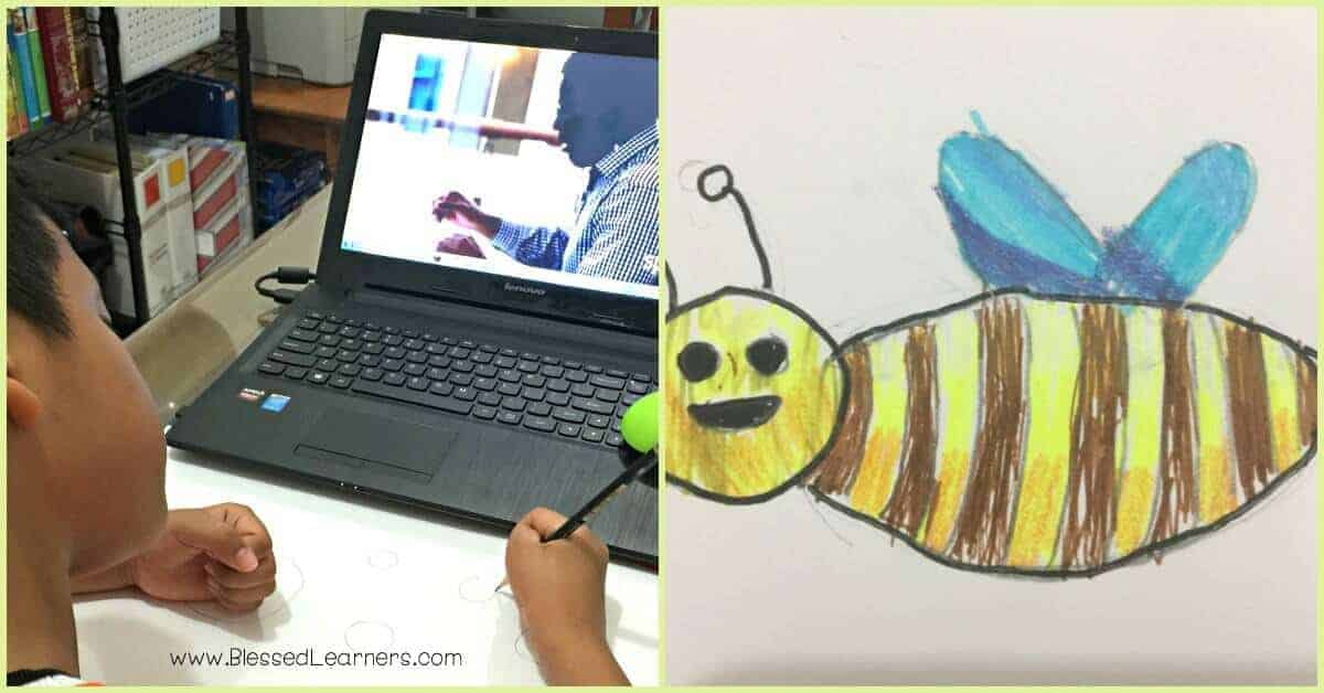 It is hard to do artwork with no talents in arts. Sparketh, The online homeschool art lessons are the solutions for unskilled artists like us.