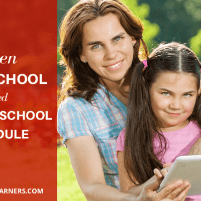 When Homeschool Needs Flexible School Schedule
