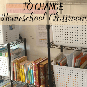 There are some conditions when you have to change the situation. There are some reasons and ways to change homeschool classroom. You will also need some homeschool classroom supplies and arrangement to get the best out of your room for homeschooling activities.