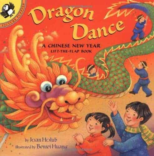 By Joan Holub Dragon Dance: A Chinese New Year LTF: A Chinese New Year Lift-the-Flap Book (Lift-the-Flap, Puffin) (Ltf) [Paperback]