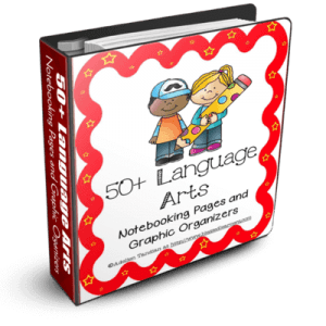50 language arts notebooking pages