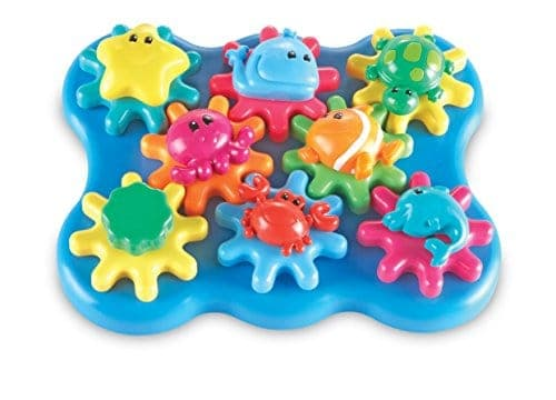 Learning Resources Ocean Wonders Build & Spin, 17 Pieces