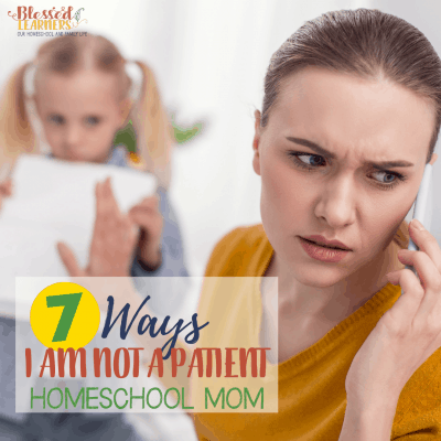 Am I a Patient Homeschooling Mom?