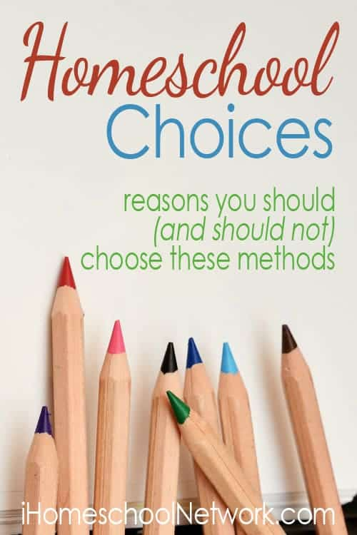Homeschool Choices
