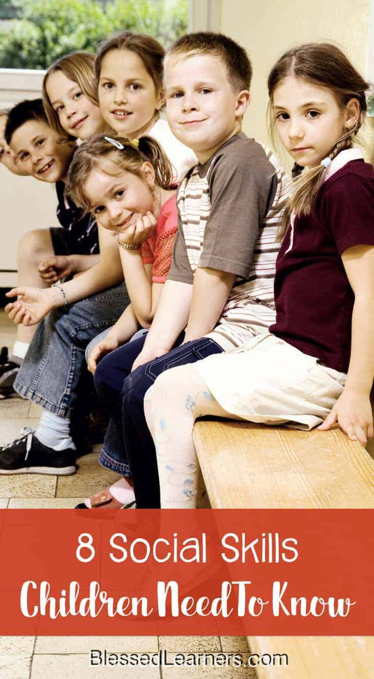 Social skills are parts of the life skills. Parents should know how to help children develop social skills because they are vital components of raising children.