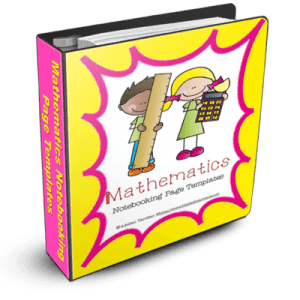 Mathematics Notebooking pages