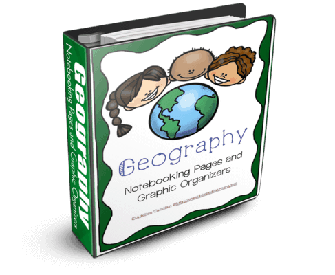 Geography is a subject that can give a great experience for learners to be able to know places and people around the world. Real life and hands on activities can immerse the learning experience of other culture and society. Notebooking activities will help learners record the experience to enjoy later time. However, it takes a great deals of time and energy for parents to put the geography records into proper notebooking pages as documents. There might be a lot of versions and resources for similar purposes. Geography Notebooking Pages and Graphic Organizers is created for all learners, especially the 3rd-8th graders. We try to collect some notebooking page templates and graphic organizers for common geography activities so that parents can have them in a package of 51 pages.