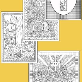 Although a bunny and eggs are very popular in Easter, Since the beginning, Cross is the main symbol of Easter for Christian. Today, I would like to share some free Easter coloring pages at the end of this post.