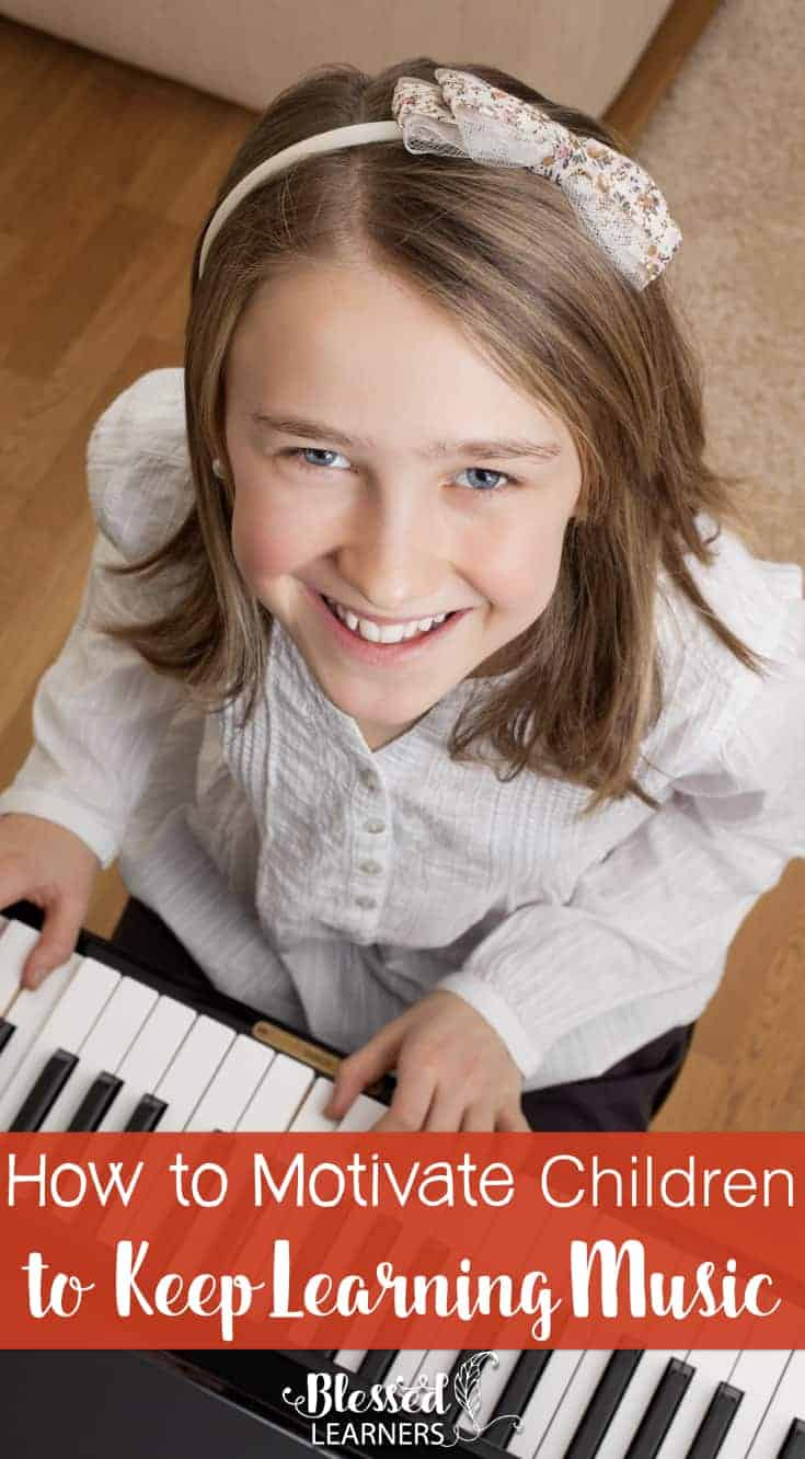 Starting a music lesson might fun in the beginning, but it might cause boredom when they have joined for a certain period of time. Here are some tips on how to motivate children to keep learning music. #MusicStudy #Arts #LearningMotivation #homeschool | music study | Learning motivation | parenting