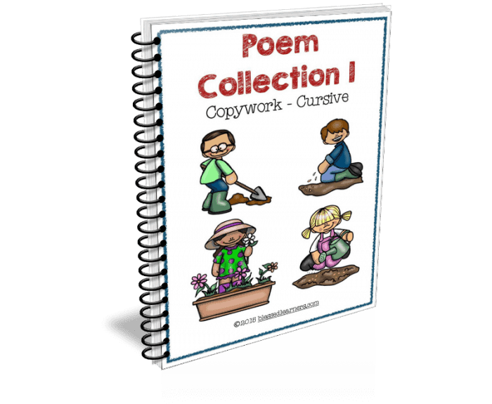 Poem Collection I - Copywork